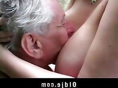 Big Boobs, Blonde, Blowjob, Old and Young, Teen