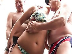 Facial, Group Sex, Old and Young