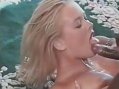 Blonde, Vintage, Blowjob, Cumshot