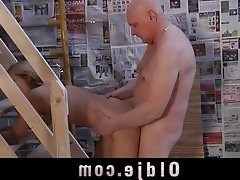 Blonde, Blowjob, Cunnilingus, Old and Young, Teen