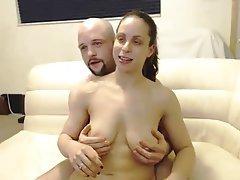 Amateur, Big Boobs, Blowjob, Cumshot, Webcam