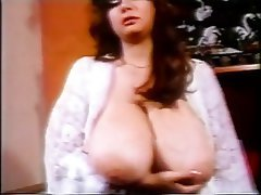 Babe, Big Boobs, Brunette, Masturbation, Vintage