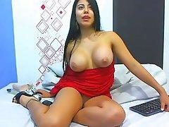 Amateur, Big Boobs, Masturbation, Webcam